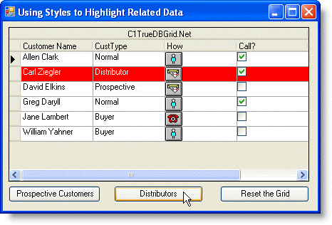Tutorial 11 - Using Styles to Highlight Related Data