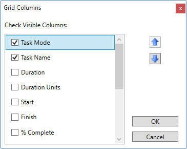 Runtime Interactions in WPF Gantt Chart