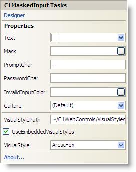 ComponentOne Input for ASP NET AJAX Help