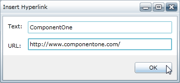 RichTextBox for WPF and Silverlight - Insert Group