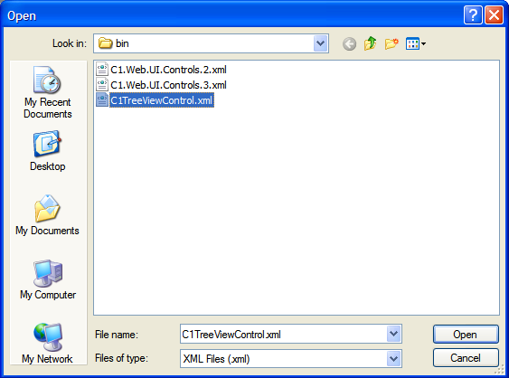 how to open existing file on myob
