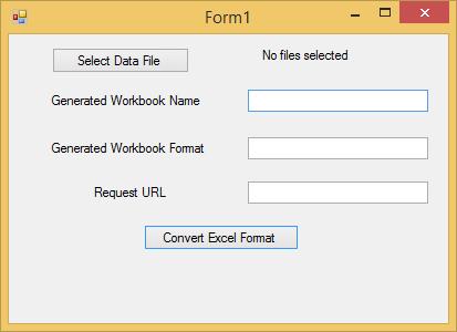 ComponentOne Studio Web API Edition - Convert Workbook