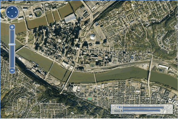 bing maps aerial